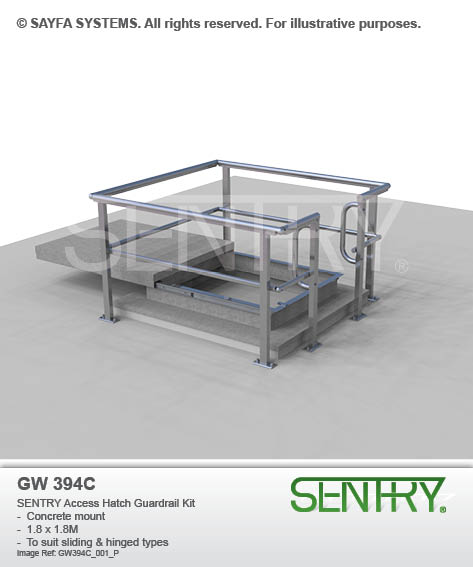 SENTRY Access Hatch Guardrail Kit